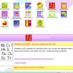 Educational Website- Free Printable Educational Worksheets