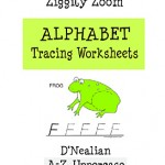 D-Nealian Uppercase Alphabet Tracing Letters Workbook
