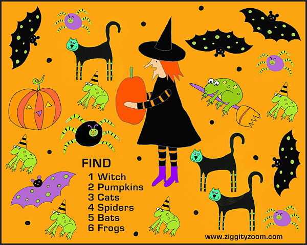 Numbers National Kindergarten Readiness – Halloween Worksheets Printables