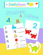Number & letters Kindergarten Workbook