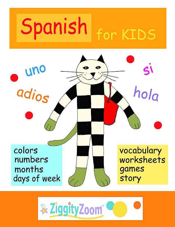 Spanish For Kids Worksheets Preschool Kindergarten: Spanish Workbook Sheet At Alzheimers-prions.com
