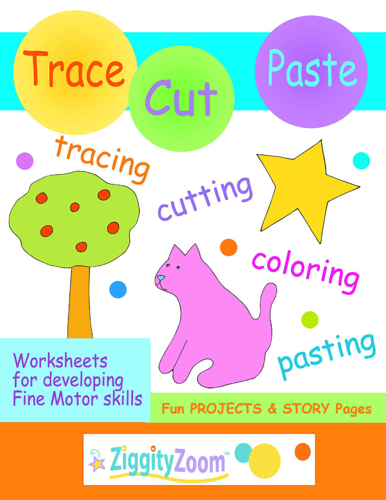 Tracing & Cutting Practice Workbook for Preschool